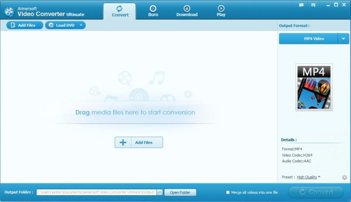 Aimersoft Video Converter Ultimate windows