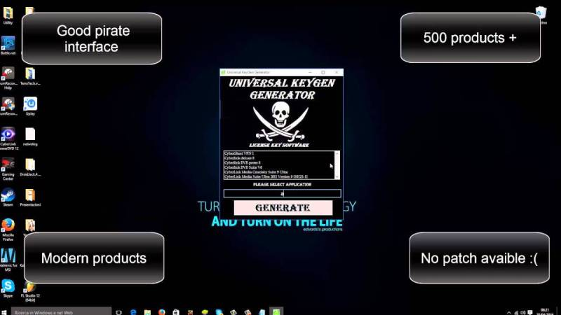 Universal Keygen Generator windows
