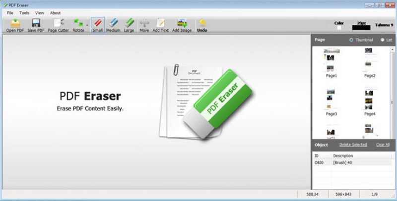 PDF Eraser Pro windows