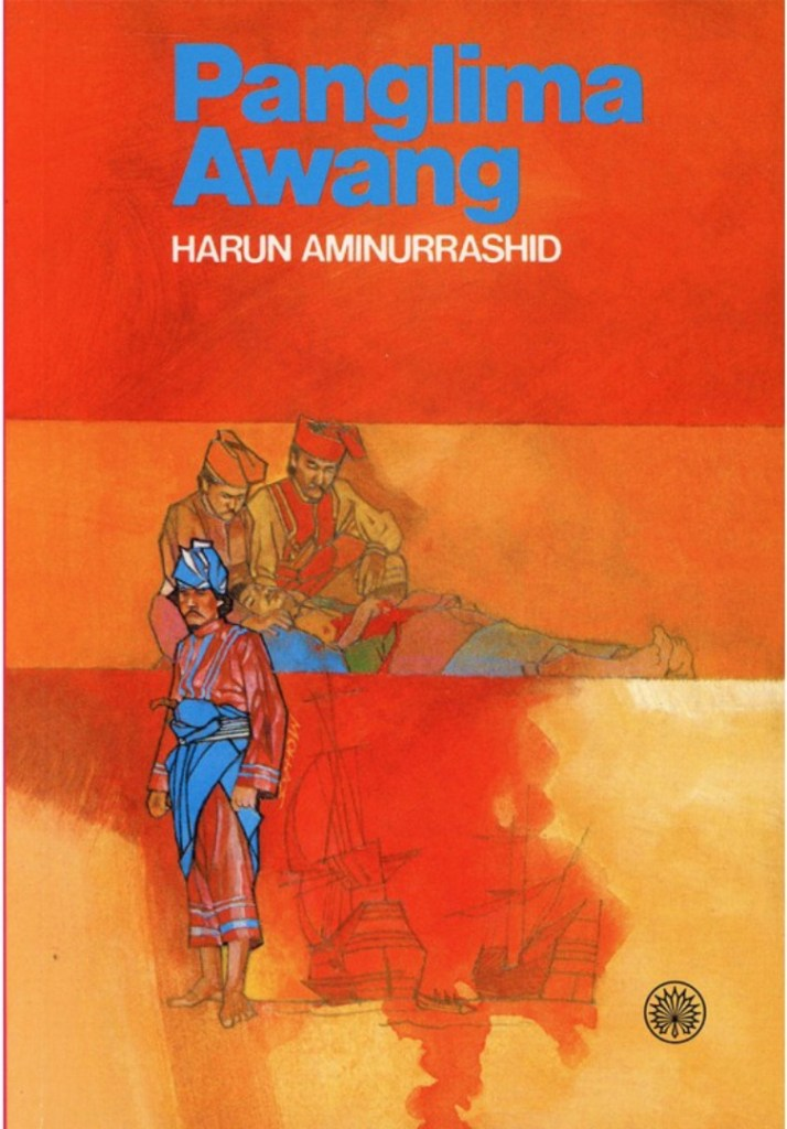 Panglima Awang book cover. Image supplied.