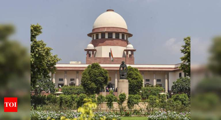 SC seeks response from Centre on plea challenging sedition law | India News