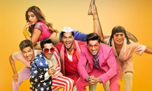 Varun Dhawan & Sara Ali Khan's COOLIE NO. 1 is atypical David Dhawan entertainer — crazy, outrageous and over the top — but funny and entertaining.