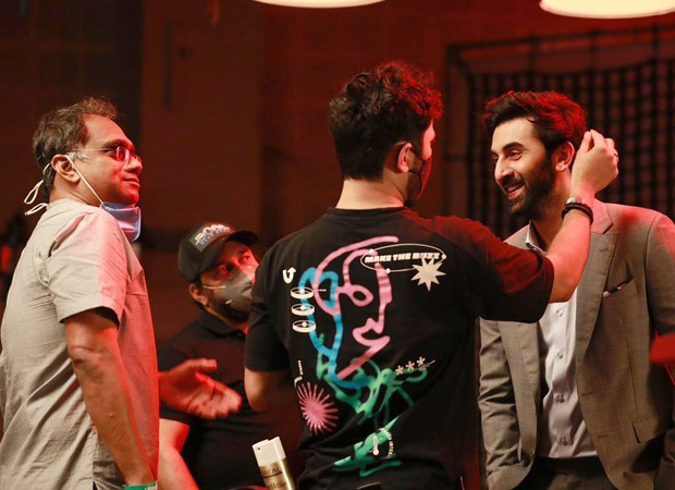 Check out BTS pictures from Ranbir Kapoor's latest advertisement for Netflix : Bollywood News