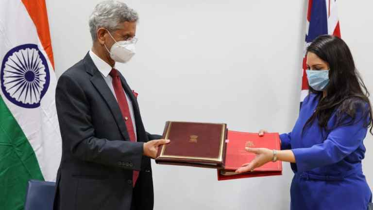 India-UK sign Migration and Mobility Partnership Agreement to boost work visas for Indian nationals | India News