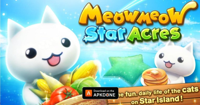 Meow Meow Star Acres MOD APK 2.0.1 Download (Unlimited Money) for Android
