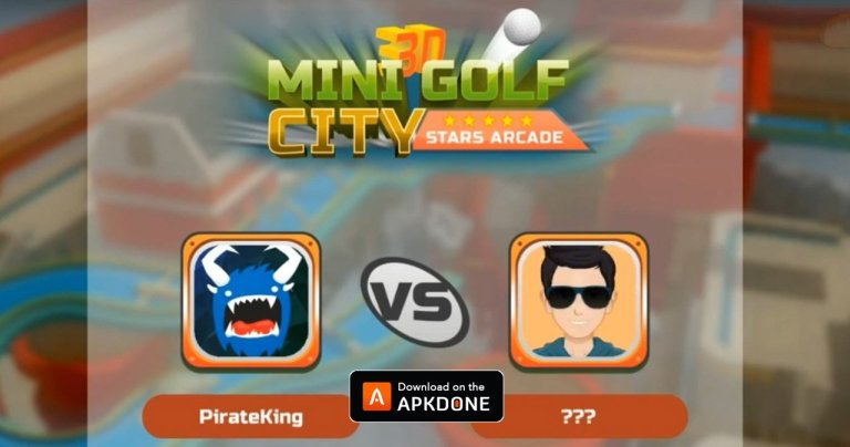 Mini Golf 3D City Stars MOD APK 25.9 (Unlimited Money) for Android