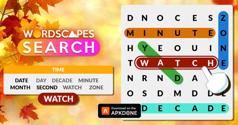 Wordscapes Search MOD APK 1.11.1 Download (Ad-Free) free for Android