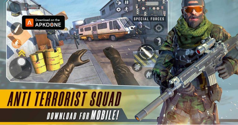 Anti Terrorist Squad Shooting MOD APK 0.7.1 Download (Unlocked) free for Android