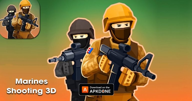Marines Shooting 3D MOD APK 1.38 Download (No Ads) for Android