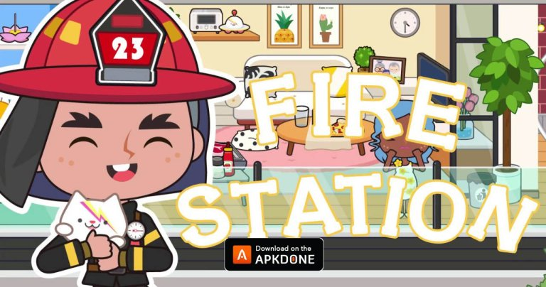 My Fire Station MOD APK 1.3 (Unlock All Maps) for Android