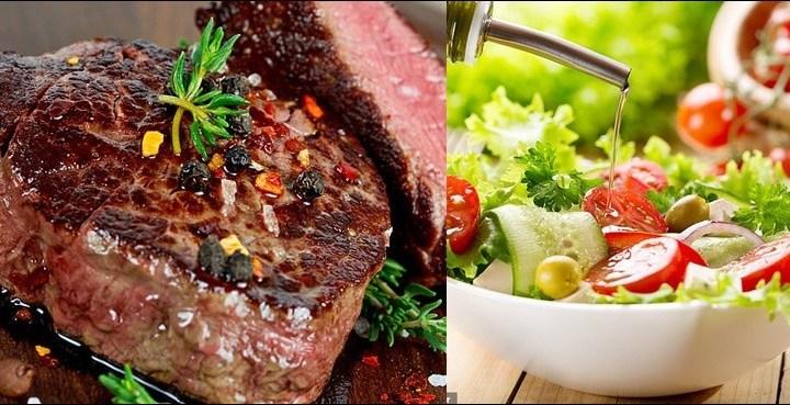 جسم کیلئے گوشت زیادہ مفید ہے یا سبزیاں؟