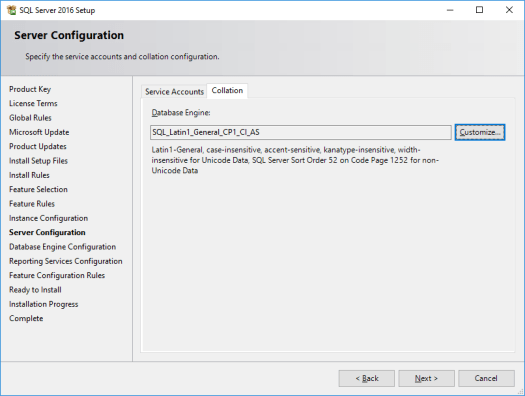 Installing and configuring SQL Server 2016 - DailySysAdmin