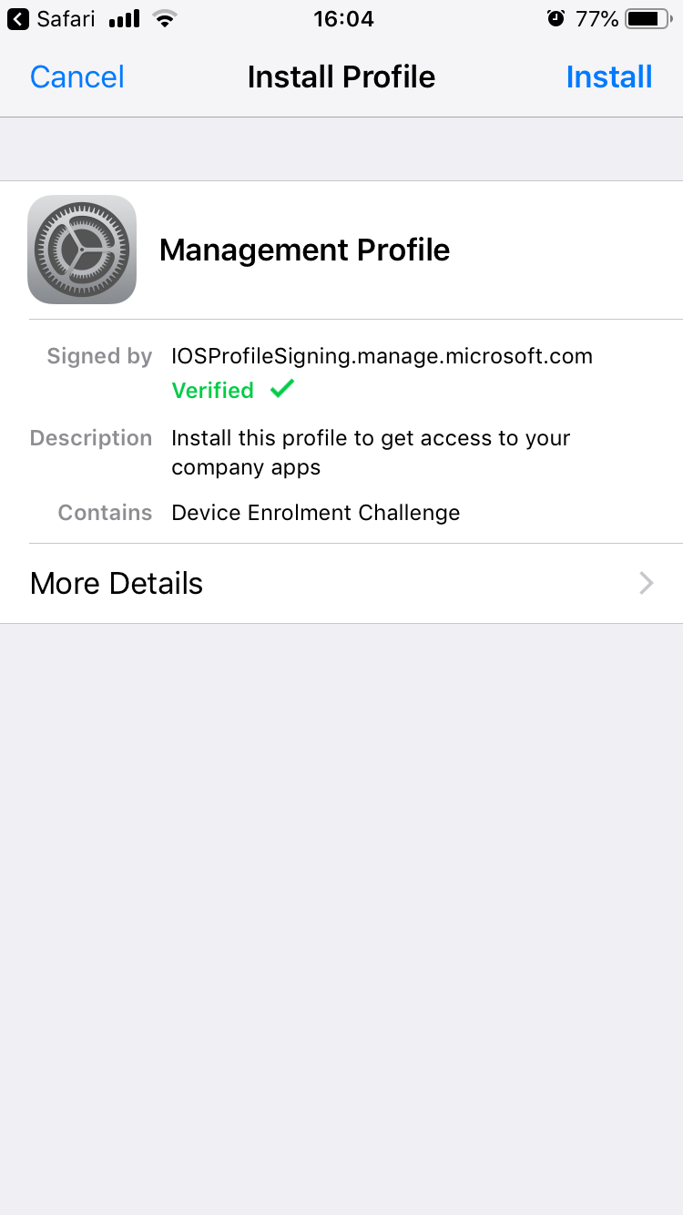Configure Office 365 to connect Outlook to your mobile device using