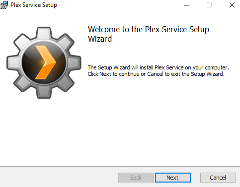 Installing and Configuring a Plex Media Server on Windows