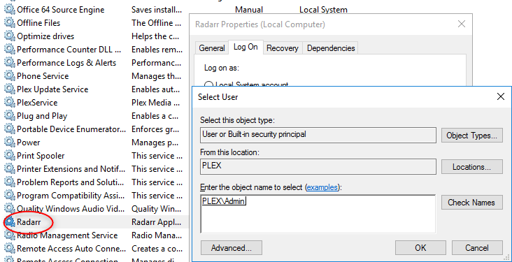 Installing and Configuring Radarr and integrating with a