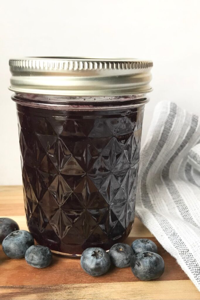 blueberry syrup for iced tea