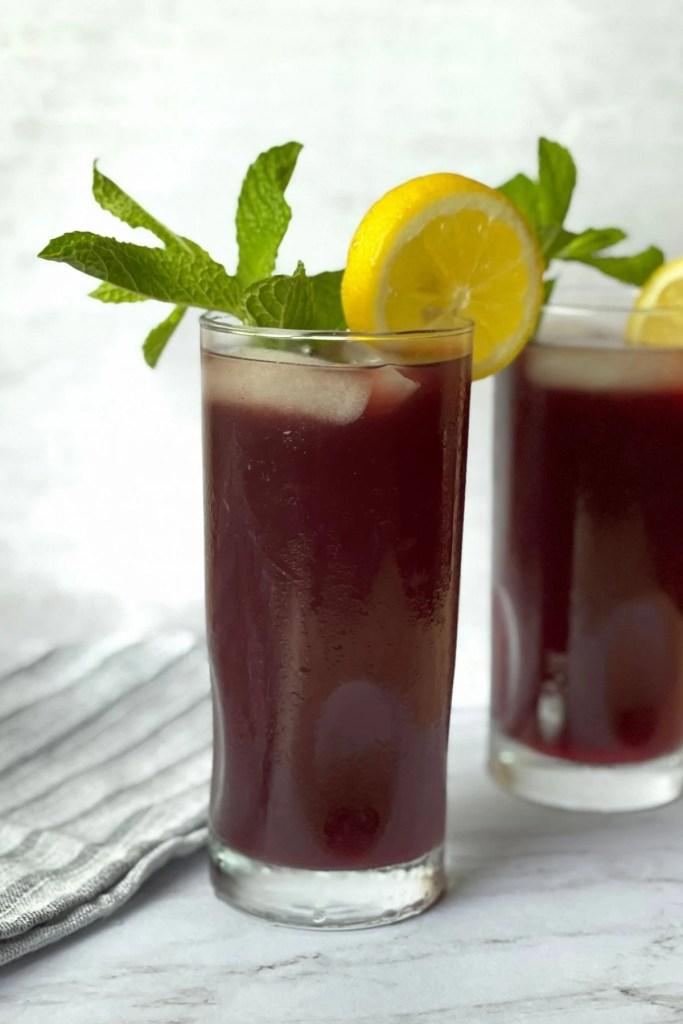 blackberry sweet iced tea