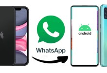 How to migrate WhatsApp chat history from iOS to Android