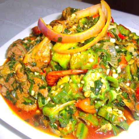 Ila Alasepo/ Stewed Okro soup