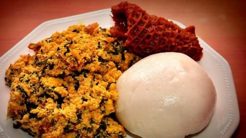 Iyan/ Pounded yam - Best Yoruba Foods