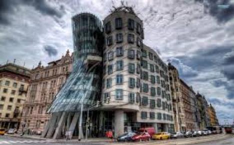 THE DANCING BUILDING, CZECH REPUBLIC
