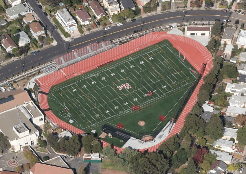 St Marys College High School Track  Albany CA  Daily