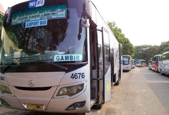 Jadwal rute bus Damri