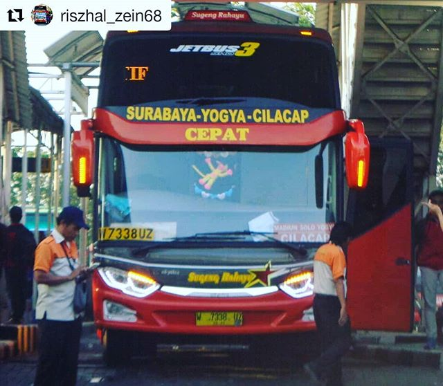 Jadwal Keberangkatan Bus Sugeng Rahayu 2019 Catatan