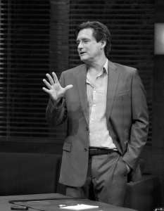 """School ties · Bill Pullman (above) take a break from movies to star in esteemed playwright David Mamet's """"Oleanna,"""" now onstage at the Mark Taper Forum in Downtown Los Angeles. -  Photos Courtesy of Center Theatre Group"""