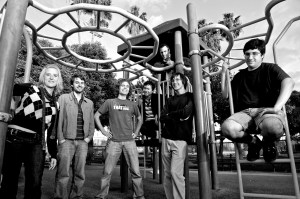 Company profile · The minds behind thatgamecompany, led by USC alumni Santiago (far left) and Chen (center). Santiago and Chen created their first game together while students at the School of Cinematic Arts.
