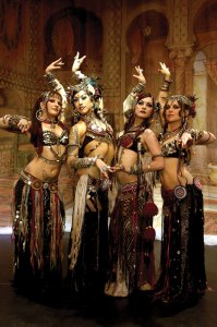 Star gazing · The Bellydance Superstars showcases its distinctive blend of traditional and modern bellydance styles nationwide. The troupe is performing Friday at the Haugh Performing Arts Center in Glendora, Calif. - Photo courtesy of Insight Mgt