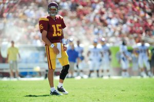 In line · Corp took first-team reps for the third time this week. - Eric Wolfe  Daily Trojan