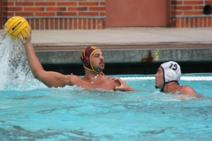 Rebound · The Trojans and two-meter Jordan Thompson bounced back from their semifinal loss to UCLA with a win over No. 3 California. - Dieuwertje Kast | Daily Trojan