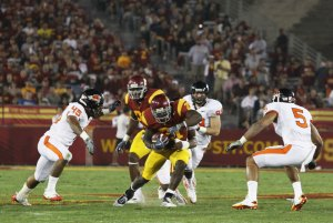 Conference honors · The Pac-10 took notice of running back Allen Bradford's breakout performance Saturday, awarding the redshirt junior Player of the Week honors for his two touchdown, 147-yard outing. - Mike Lee | Daily Trojan