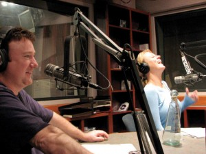 Talking heads · After gaining popularity on the now-defunct FM station KLSX, the talk-radio comedy trio Frosty, Heidi and Frank are broadcast daily on 790 KABC, an AM station that airs news and commentary. - Photos courtesy of Daniella Maestasn