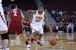 Moving forward · The Women of Troy look to continue their winning ways on the road.  In their previous trip to Berkeley, the team defeated the Golden Bears 76-75 in a thrilling overtime contest.   - Chris Pham   Daily Trojan