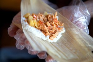 Fresh and easy · Food from Mama's Hot Tamales Café will be served at the event. Access to fresh and local foods can be a challenge in many communities. The panel, held Friday, will examine the reasons behind the issue. - Courtesy of Eve NaRanong