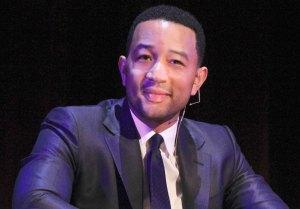 Shine bright · Grammy award-winning singer John Legend urges students to take charge of their education Monday at Bovard Auditorium. - Ricardo Galvez | Daily Trojan