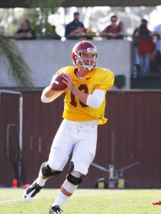 Back and getting healthy · Sophomore quarterback Max Wittek (above) continues to compete in a tight quarterback battle against sophomore Cody Kessler and freshman early admit Max Browne. - Austin Vogel | Daily Trojan