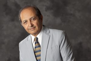 Out of this world · As well as teaching,  Professor Behrokh Khoshnevis also serves as a Felllow member of the Institute of Industrial Engineering. - Photo courtesy of USC Viterbi School of Engineering