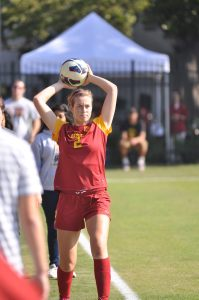 Stand strong · USC sophomore defender Marlee Carrillo anchored the Women of Troy's backline that only allowed just two goals in two matches. - Chris Roman   Daily Trojan