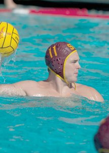 Scoring burst · Senior utility player Mace Rapsey led the Trojans with five goals on Saturday in their conference opener against the Anteaters. - Joseph Chen | Daily Trojan