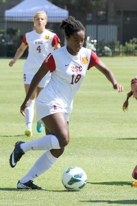 Phenom · Freshman midfielder Kayla Mills has been a bright spot for USC this season, leading the team in assists (7) and points (13). - Nick Entin | Daily Trojan