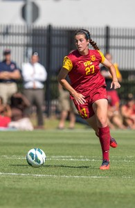 Out of nowhere · Junior midfielder Alex Quincey hadn't scored this season before netting two goals last weekend versus Stanford and Cal. - Ralf Cheung | Daily Trojan
