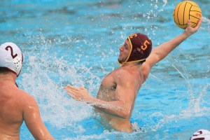 Lead the charge · USC junior driver Kostas Genidounias has been a consistent threat for the Trojans, leading the team with 70 goals scored. - Corey Marquetti | Daily Trojan