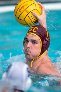 Too little · Senior utility man Mace Rapsey scored a team-high four goals against Stanford in USC's 17-16 overtime loss to the Cardinal. - Ralf Cheung | Daily Trojan
