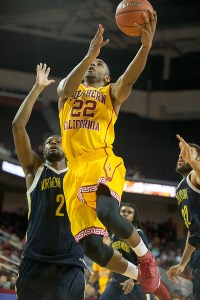 Leading the way · USC junior guard Byron Wesley is averaging a team-high 20.7 points and 9.3 rebounds per game this season. - Ralf Cheung | Daily Trojan