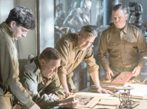 Search and Rescue · George Clooney's The Monuments Men, adapted from the book by Robert M. Edsel, tells the story of American soldiers on a mission to recover fine artwork stolen by the Nazis during World War II.  - Photo courtesy of the Huffington Post