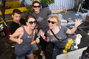 Beer we are now, entertain us · USC alumna Nicole Gordillo Schimpf has organized multiple brewery-centered events that blend the arts and giving back to the community, including BAM (pictured above).  - Photos courtesy of Bernie Wire