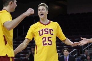 Youth movement · Outside hitter Lucas Yoder was voted the MPSF conference Freshman of the Year and All-MPSF second team this week. The San Clemente, Calif. native leads the Trojans with 384 kills this season.  - Nick Entin | Daily Trojan
